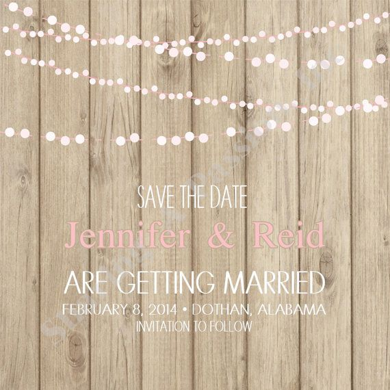 Save The Date Card  Wedding Save The Date  by SharingAPassionINC, $15.00
