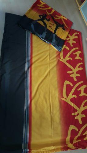 4-teilige-Bettwaesche-Sommerbettwaesche-Taekwondo-Kampfsport-135x190cm-Reisversch