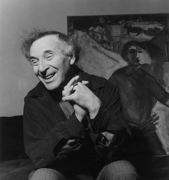 Marc Chagall, 1949. Photograph by   (Izis)  Israëlis Bidermanas