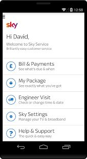 Sky which is formally marketed as Sky Digital satellite broadcasting, broadband and telephone Service Company has come up with good news. So if you are a UK's Sky subscriber, you will now be able to manage your account while on the move with the company's latest Android offering. According to the current news, the app called Sky Service, enables you to get into account areas, find help for TV, broadband and phone services as well as easy access to the service status checker.