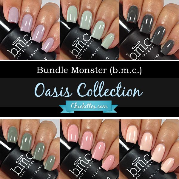 Chickettes.com - bmc Oasis gel polish collection