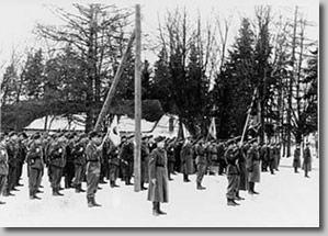 Despedida de la Legión Azul. Estonia, 1944 (F