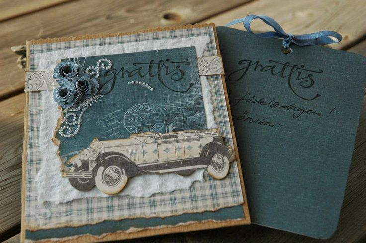 Birthdaycard with Pion designs Collection 'For father'