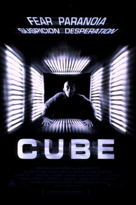 #168. Cube (1997) ** directed by Vincenzo Natali. For a cheaply made movie it's pretty good.