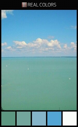 Lake Balaton colours