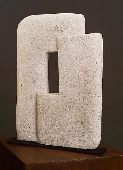 Through the Square by Kathleen Nartuhi: Concrete Sculpture available at www.artfulhome.com