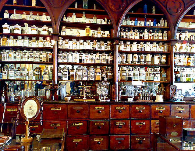 Apothecary's by Rhodentette, via Flickr - feels like home.