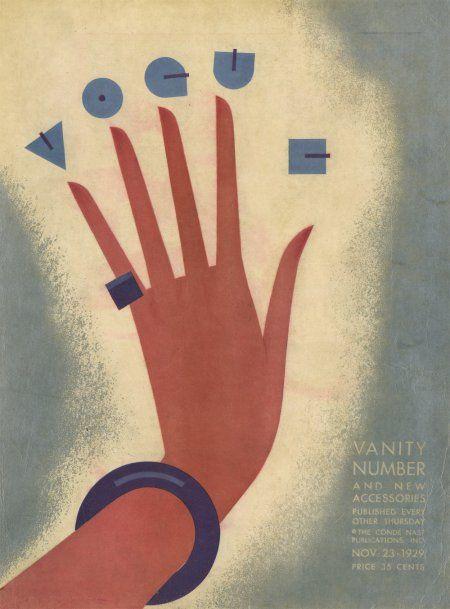 Couverture de VOGUE, Illustration de William Bolin