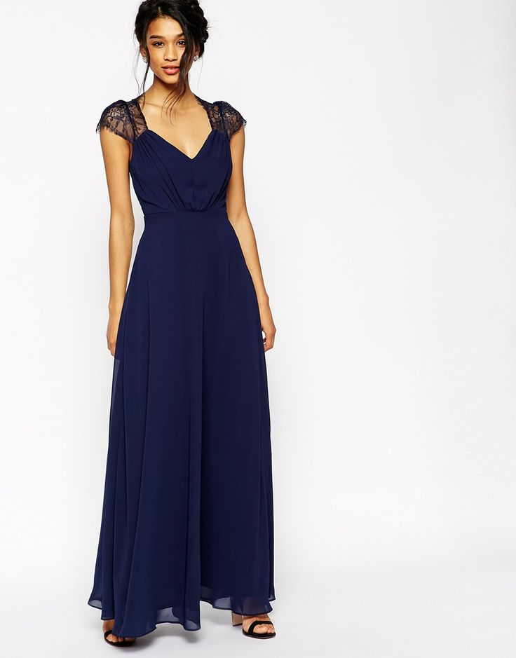 Image 1 - ASOS - Kate - Maxi robe en dentelle