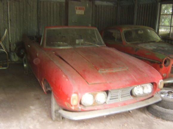 Fiat 1200 Ghia Turin Show Car 1958