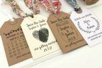 Easy DIY Save the Dates Using Personalised Rubber Stamps
