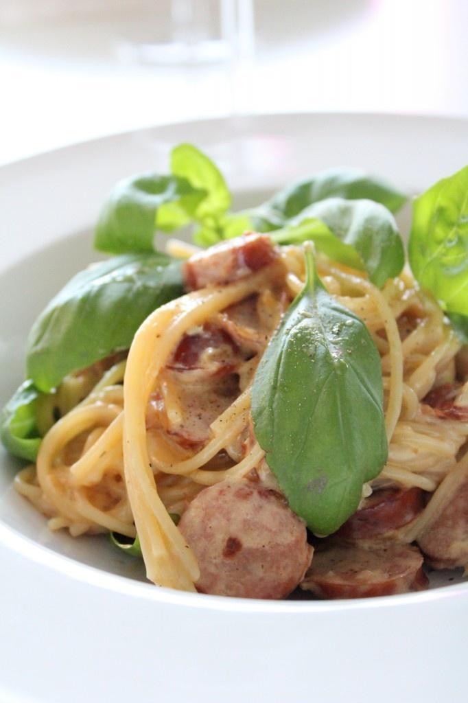 Het pasta med chorizo | Starwoman