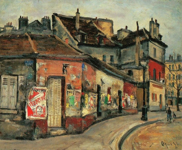 Ogisu Takanori, Street Corner Advertising, Paris, 1937