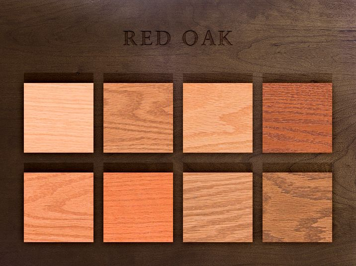 Custom Wood Stains Red Oak House Pinterest Cherries