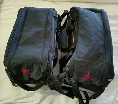 Paul Teutul Jr. Saddlebags From Paul Jr. Designs Motorcycle Cargo Bags W/ Covers