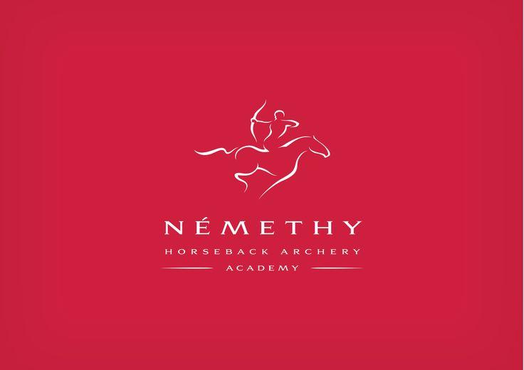 Horseback archery academy logo by noppa