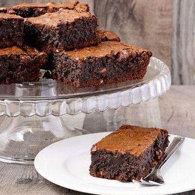 Negresa de post cu ciocolată neagră