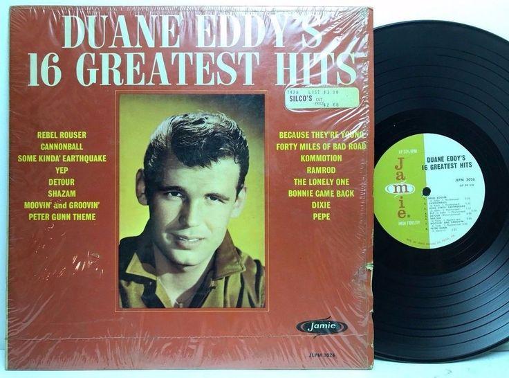 Duane Eddy 16 Greatest Hits Jamie Stereo in-shrink LP, Vinyl Record, Album stores.ebay.com/capcollectibles