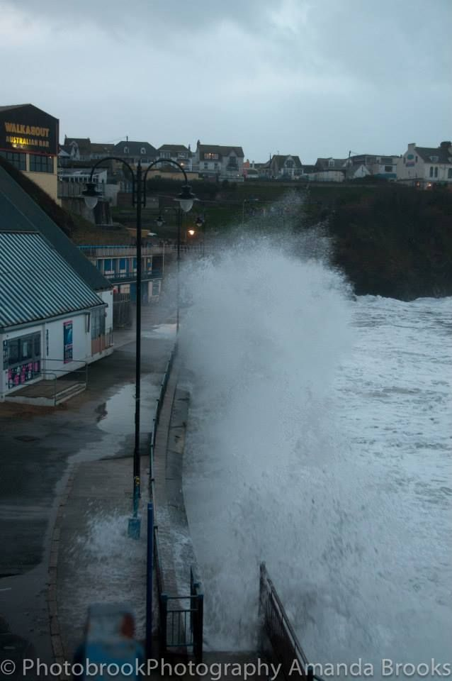 Massive waves in Newquay