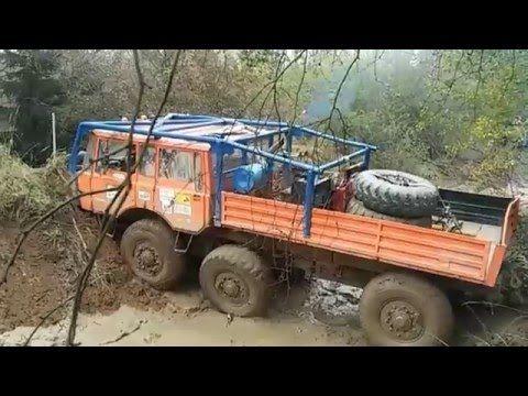 Extrem off road 8X8 TRUCK TATRA - Truck trial-2016 Compilation