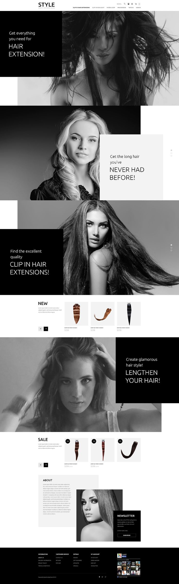 Hair & Beauty Salon OpenCart Template #websitetheme http://www.templatemonster.com/opencart-templates/54746.html?utm_source=pinterest&utm_medium=timeline&utm_campaign=opcsty