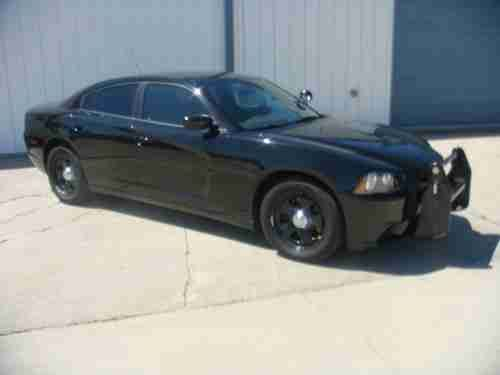 Dodge Charger Police Package 2012 Dodge Charger Police Pursuit