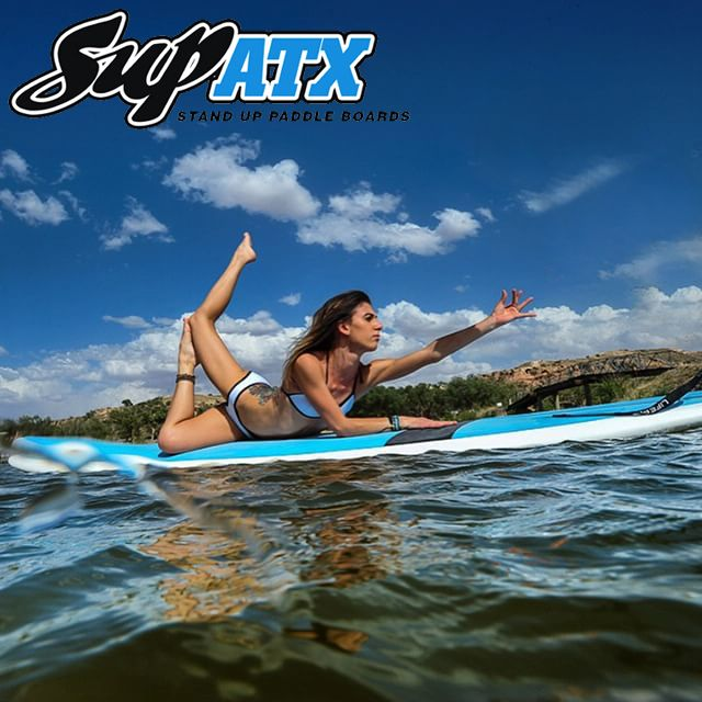 Yoga / Fitness paddle boards by SUP ATX!  www.SUPATX.com #supatx #supyoga #sup #paddleboard #fitness