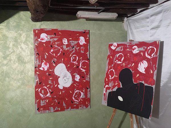 Listen to your heart c/o Temporary art in Lucca personale di Andrea Mattiello