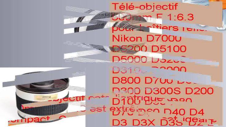 cool Téléobjectif 500mm F 163 pour boîtiers reflex Nikon D7200 D7100 D7000 D5200 D5100 D5000 D3200 Check more at http://gadgetsnetworks.com/teleobjectif-500mm-f-163-pour-boitiers-reflex-nikon-d7200-d7100-d7000-d5200-d5100-d5000-d3200-2/