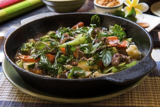Biffwok Madame Hiên - en enkel og ekstra juicy wok. Perfekt på travle dager!