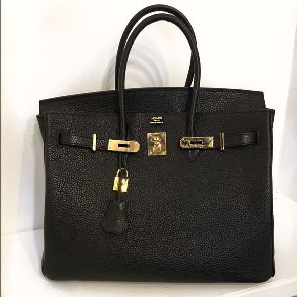 Hermes Birken Bag Brand new with plastic still on hardware. 100% leather replica bag. Hermes Bags Totes