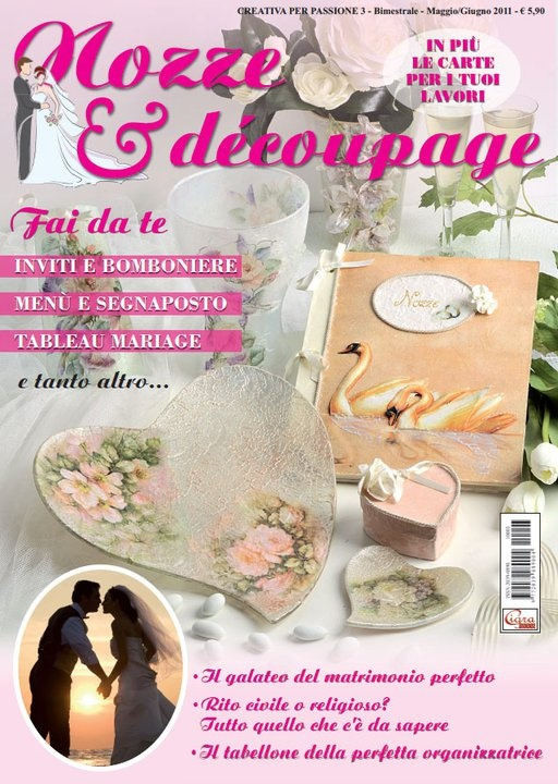 Projects and ideas for the wedding day - Italian language