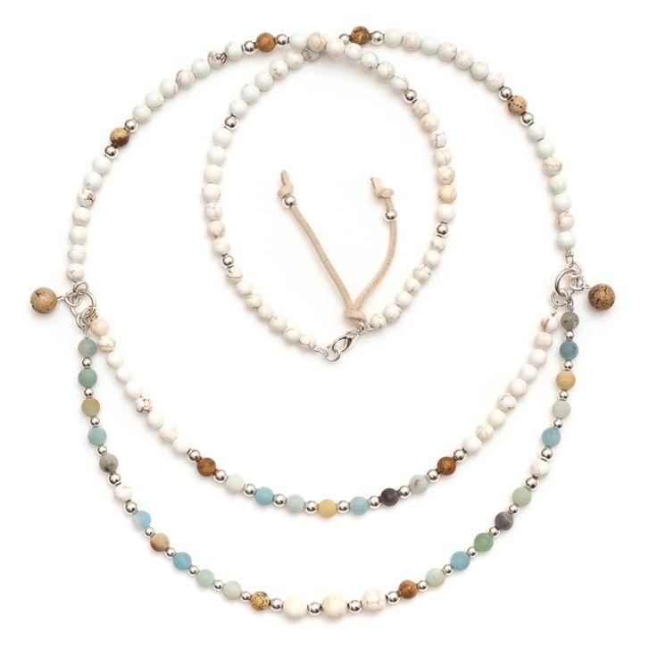 xada jewellery - Amalfi double strand beaded necklace, $71.95 (http://www.xadajewellery.com/shop-by-collection/xada-amalfi-double-strand-beaded-necklace/)