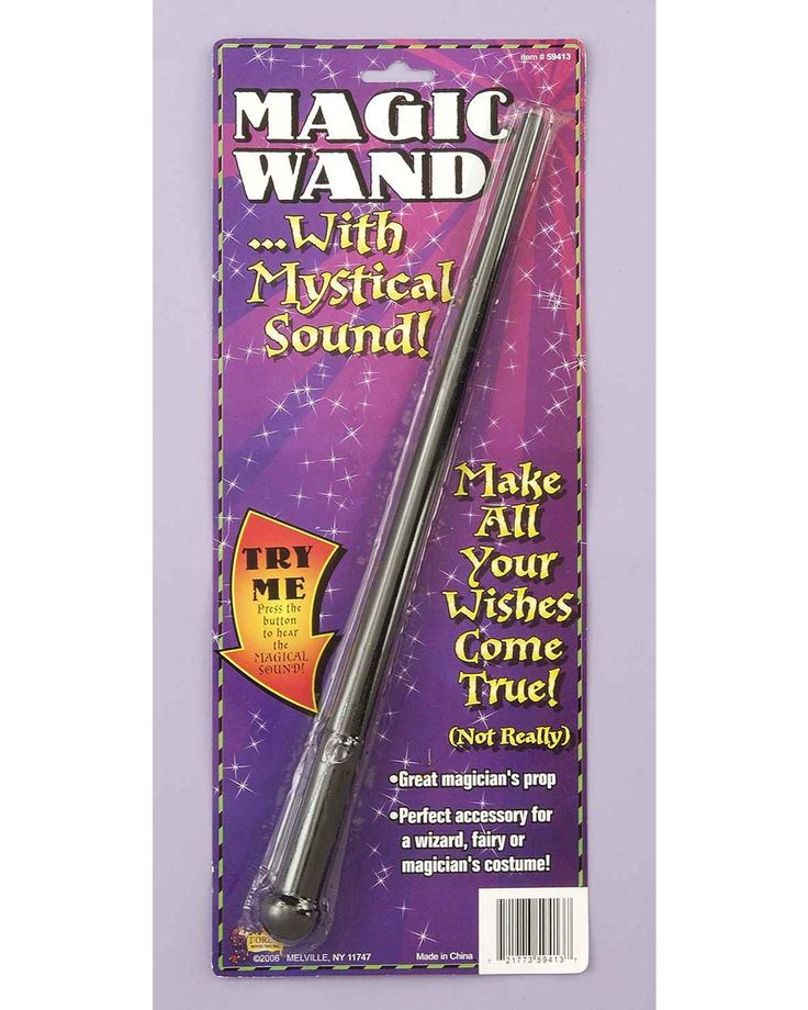 Magic Wand With Mystical Sound
