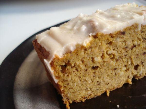 fijn! in de herfst:  kruidige pompoencake <3