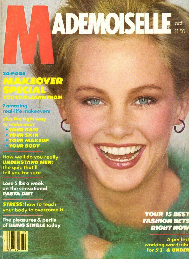 1979 Mademoiselle Magazine Barry Bostwick Patti Lupone Gia Carangi Ads 70s #Mademoiselle