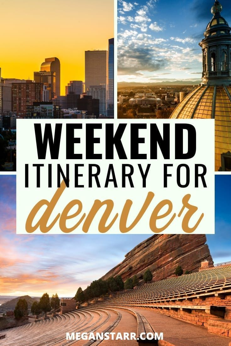 The Perfect Weekend In Denver Co Itinerary For First Timers In 2020 Denver Travel Weekend In Denver Colorado Travel