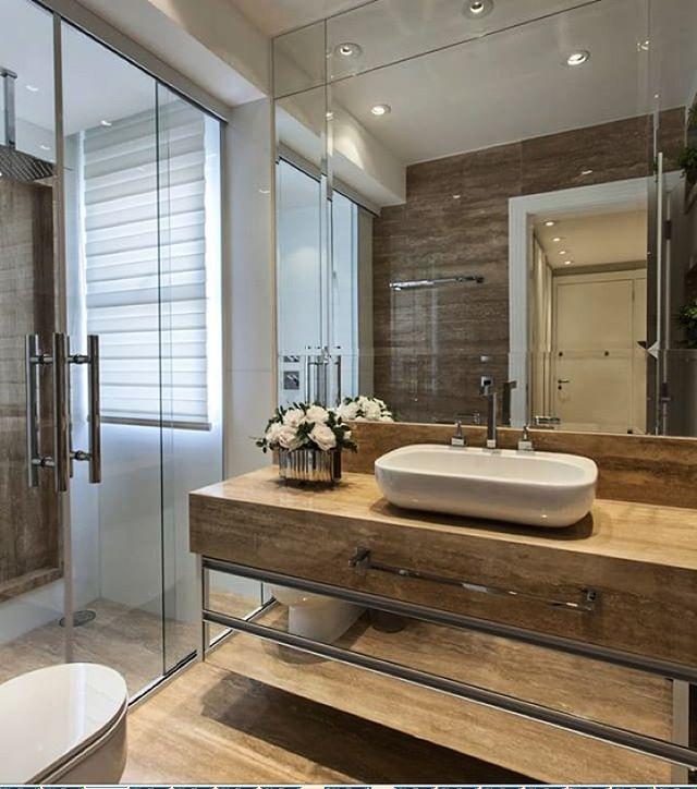 Banheiro By @iarakilaris #decore #arquitetura #ambientes #home #arquiteturadeinteriores #style #homedecor #homestyle #design #homedesign #interiores #detalhes #decoreseuestilo #designdecor #decoracaodeinteriores #banheiro #instahome #instadesign #instadecor #interiordesign #decorando #decoration #decoração #details #luxury #casaluxo #casachic