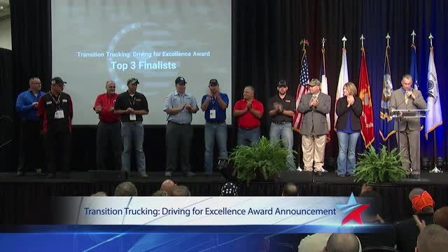 The U.S Chamber of Commerce Foundation\'s Hiring Our Heroes Program, Kenworth, and FASTPORT have come together to award a fully loaded T680 to a deserving veteran who enters the trucking industry. I voted for my favorite rookie! #TransitionTrucking