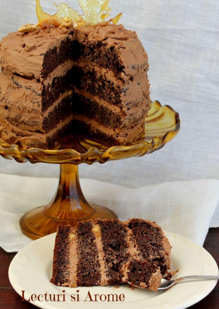 tort cu crema de mascarpone si ciocolata