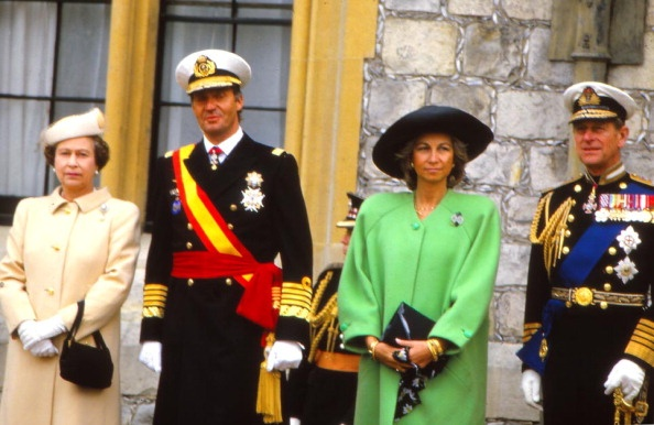 Queen Elizabeth, King Juan Carlos, Queen Sofia and the Duke of Edinburgh - they are ALL cousins of each other as they are ALL descendants of Queen Victoria.