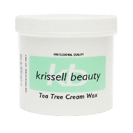Krissell Beauty Tea Tree Cream Wax 425g 0044886 Krissell Beauty Tea Tree Cream Wax leaves skin silky smooth while protecting it from dryness and irritation with the soothing and healing properties of Tea Tree Oil. This Tea Tree Cream Wax melts at a http://www.MightGet.com/may-2017-1/krissell-beauty-tea-tree-cream-wax-425g-0044886.asp