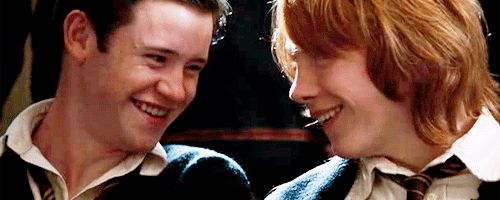 First Ronald Weasley then Seamus Finnigan//Which Male Student Would You Date At Hogwarts