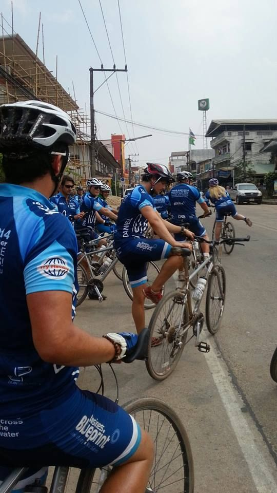 Charity bike ride in Thailand with businessmen across the world in partnership with Hands Across the Water Charity #BGH #BGHdzung #Thaicharitybikeride http://beyondgoodhealthclinics.com.au/