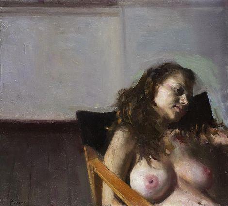 Giorgos Rorris, Sleep (?). Oil on canvas. 2010 on ArtStack #giorgos-rorris #art