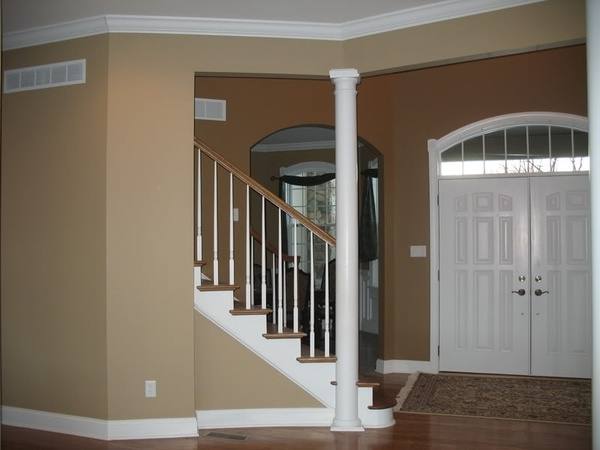Latte Colored Paint By Sherwin Williams Family Room