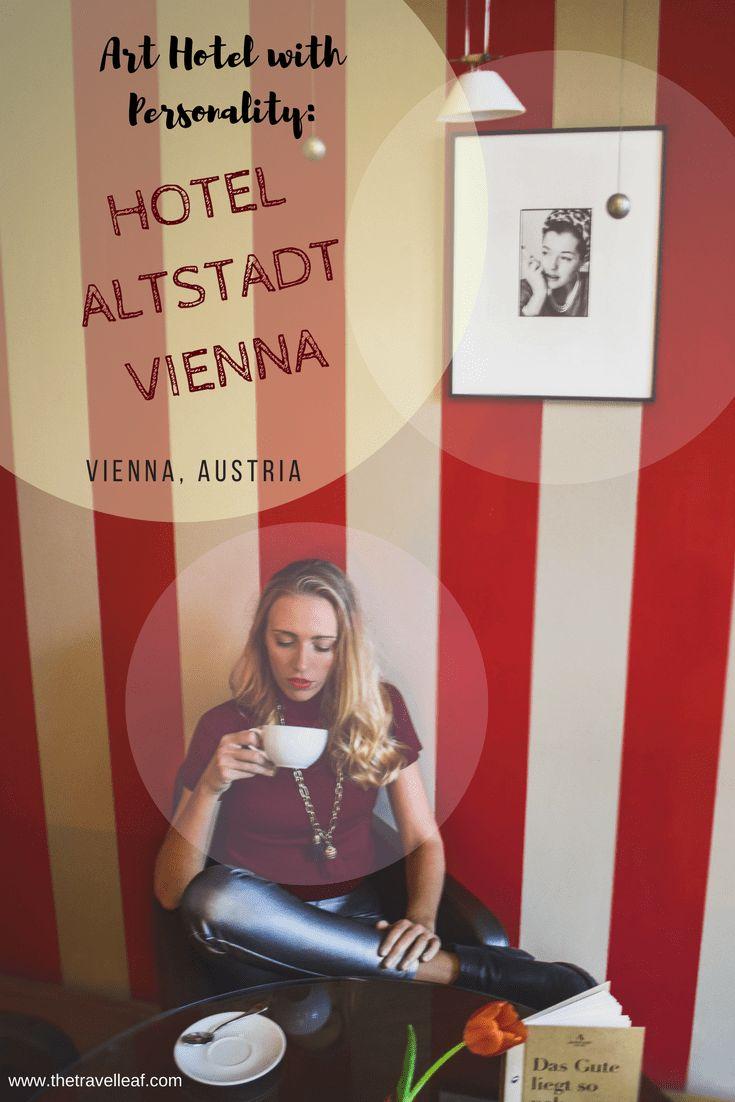 The best boutique hotel in Vienna, Austria. Hotel Altstadt Vienna. Art and design. #vienna #boutiquehotels #hoteldesign #austria