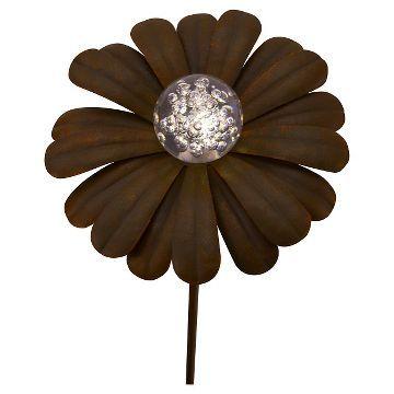 Solar Metal Flower Stakelight - Threshold™