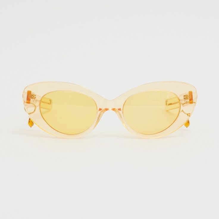 Gatto Poms x Pared Frames - Amber (Yellow)
