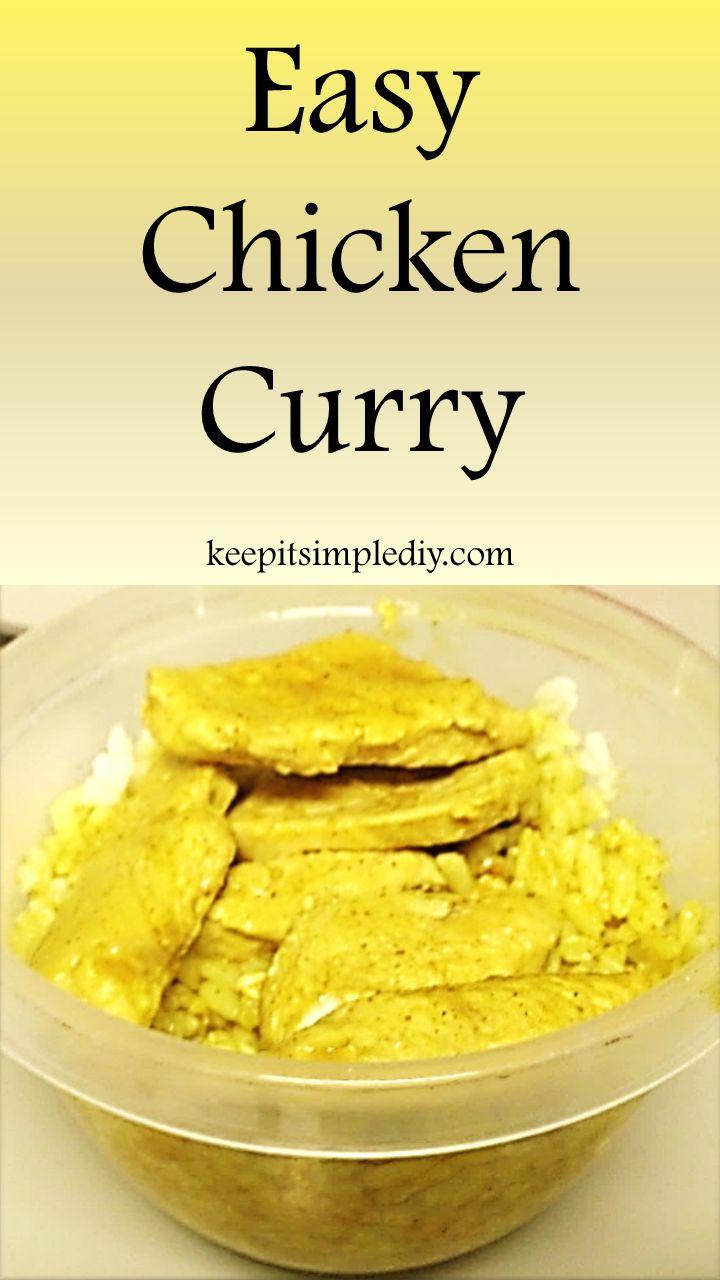 favorite easy five ingredient meals! Ingredients Chicken Rice Coconut ...